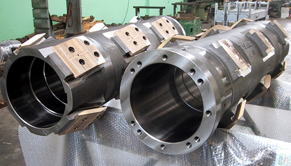 Heavy mechanical machining