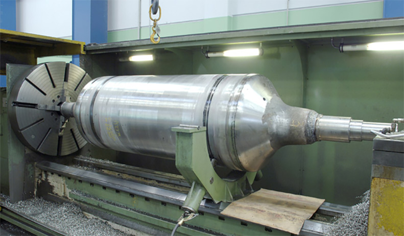 Roll for coil heat treatment furnace 1