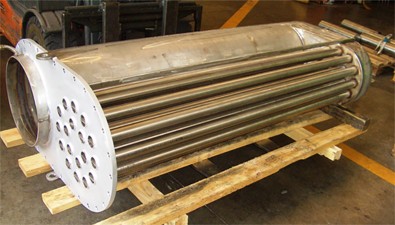 Heat exchanger air-water